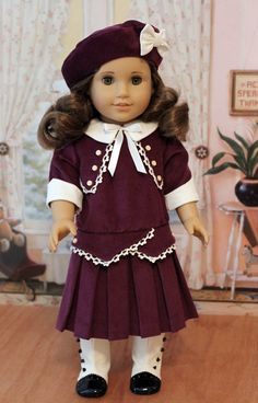 1914 Frock with Hat and Bloomers by BabiesArtUs on Etsy, $75.00.