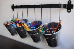 Love this organization for art/school supplies!
