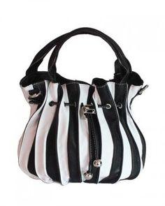 Mimmo - Distaso Leather Drawstrings Shoulder Bag