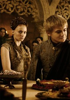 Joffrey Baratheon & Sansa Stark Game of Thrones S3E08