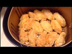 I used the POWER AIR FRYER XL 5.3 Quart to 'air fry' these wings! I've already learned the best settings to use by making two batches! For the 2nd batch I se...