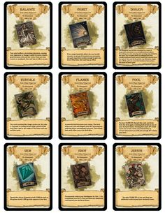 DM Paul Weber — Deck of Many Things Cards! All 22 cards from the.