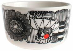 Siirtolapuutarha skål 2,5 dl. - Skulle man eje noget fra Marimekko, måtte det gerne være den her ;-)