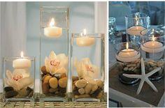 Centrotavola di matrimonio con candele e fiori, idee per tutti i gusti - Lombarda Flor