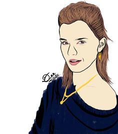 Emma Watson in vector art form :-)