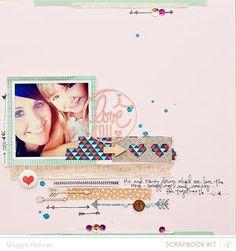 I Love You {Studio Calico February Kits}  by maggie holmes
