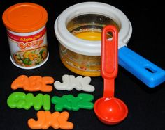 Fisher Price Alphabet Soup. Completely forgot I had this!