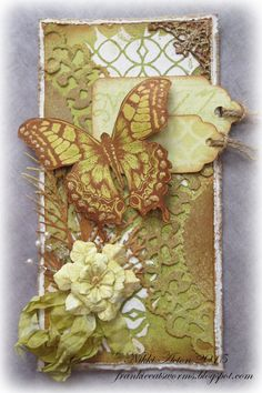 Addicted to Art: Butterflies and flowers
