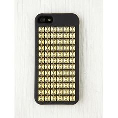 Free People Studded iPhone 5 Case ($20) ❤ liked on Polyvore