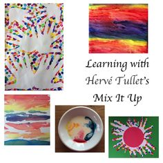 Mix It Up by Hervé Tullet is fun & gives a great introduction to the primary colours, the secondary colours & how you can make colours lighter or darker. Creative Activities For Kids, Kids Learning Activities, Color Activities, Fun Learning, Art Books For Kids, Kindergarten Colors, Primary And Secondary Colors, Up Book, Herve