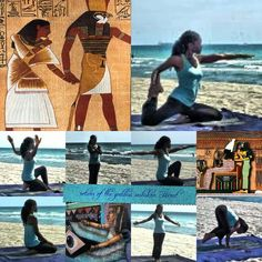 Kemetic yoga poses
