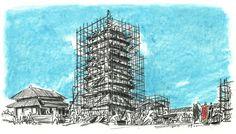 자장 (황룔사 구층탑을 세운 신라의 승려) :: 네이버캐스트 History, Historia