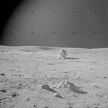The moon as taken by Apollo 14