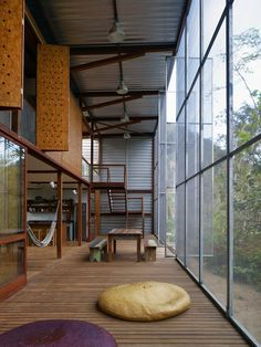 Love the OSB Shutters - mm - RR House design by Andrade Morettin Architects  08