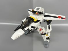 LEGO Macross VF-1S Valkyrie Roy Focker: A LEGO® creation by max vf1 : MOCpages.com