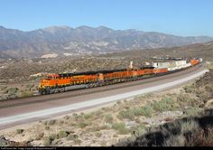 RailPictures.Net Photo: BNSF 7135 BNSF Railway GE ES44C4 at Silverwood, California by Mojavesubmp347.0