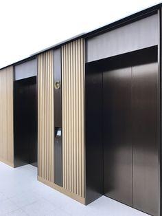 (1) Twitter Design Entrée, Lift Design, Modern Design, House Design, Lobby Interior, Interior Architecture, Interior Design, Modern Interior, Elevator Lobby Design