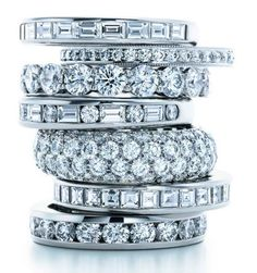Tiffany jewelry ... third from the top, second from the bottom.