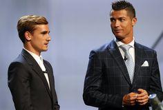 Sacré meilleur joueur UEFA de l'année, Cristiano Ronaldo a encore battu Antoine Griezmann.