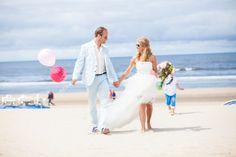 Simone en Remco trouwden op 12 juli 2013 op het strand van Zandvoort.