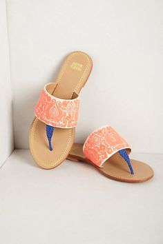 Hello. I am obsessed with you. Cannes Sandals #anthropologie
