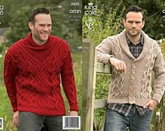 Image result for images of mens cabled sweater knit patterns