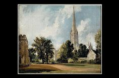 Image result for salisbury cathedral from the bishop's grounds Salisbury Cathedral, Image, Painting, Painting Art, Paintings, Painted Canvas, Drawings