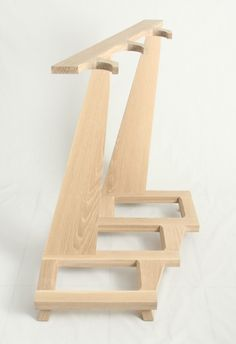 Guitar stand made of wood