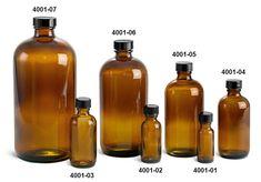 SKS Bottle & Packaging - Glass Bottles, Amber Glass Boston Round Bottles w/ Cork Stoppers Glass Bottles For Sale, Brown Glass Bottles, Glass Bottle Crafts, Amber Glass Bottles, Bottles And Jars, Apothecary Bottles, Empty Bottles, Plastic Bottles, Glass Jars