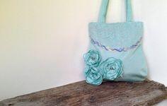 Romantic bag  unique item  bag  handmade par agnieszkamalik sur Etsy, zł110.00