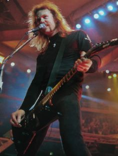The one and only James Hetfield