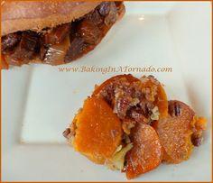 Sweet Potato Pineapple Gratin | www.BakingInATornado.com | #recipe #vegetable