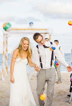 Fun Fort Lauderdale Beach Wedding.