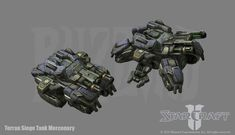 Starcraft Terran Siege Tank by PhillGonzo on DeviantArt Future Weapons, Starcraft 2, Heroes Of The Storm, I Go Crazy, Stars Craft, Dark Fantasy Art, Space Marine, Tank Design, Wow Products