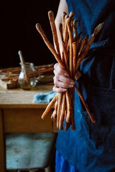 Domáce Grissini alebo aj Chlebové Keksové Paličky – Stvory z kuchyne Incense, Basket