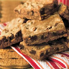 Best Cookies Recipes: Peanut Butter-Candy Bar Brownies Recipes - Best-Loved Cookie Recipes and Bar Recipes - Southern Living