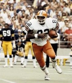Ozzie Newsome- Tight End- (1978-1990) Cleveland Browns