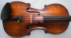 Wonderful antique violin labelled Enricus Ceruti 1804 - full of character