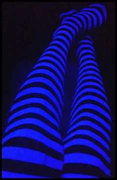 Neon stockings