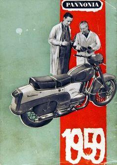 1959 Vintage Bikes, Vintage Motorcycles, Vintage Ads, Motorcycle Posters, Motorcycle Design, Restaurant Pictures, Moto Car, Posters Vintage, Retro Bike