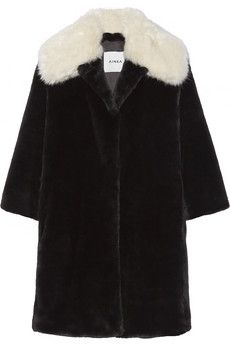 February...Ainea Faux fur coat | THE OUTNET