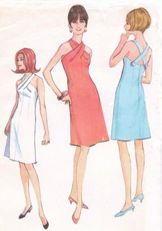Vintage 1960s McCalls Sewing Pattern 8297 Womens by CloesCloset, $37.00