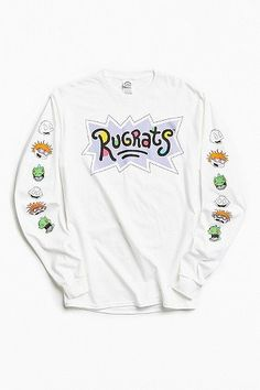 Rugrats Faces Long Sleeve T-shirt | Men | New In | T-Shirts | Graphic Tees | Urban Outfitters