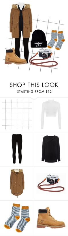 """""""Untitled #142"""" by alejomarianne on Polyvore featuring WearAll, Frame, SELECTED, Dorothy Perkins, Timberland and BOY London"""