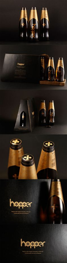 Unique Packaging Design, Hopper Belgian Beer #packaging #design (http://www.pinterest.com/aldenchong/)