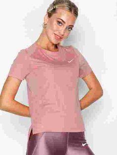 Nk Miler Top Ss - Nike - Rust - Singleter & Topper - Sportsklær - Kvinne - Nelly.com Rust, Nike, Tops, Women, Fashion, Moda, Women's, La Mode, Shell Tops