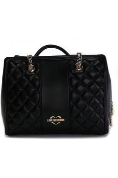 (This is an affiliate pin) Love Moschino Women's Handbags Shoulder Handbags, Shoulder Bag, Moschino, Women's Handbags, Wallet, Chain, Black, Black People, Shoulder Bags