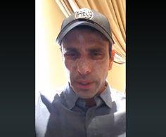 """La Plomada: """"No tengo cáncer"""": Capriles fue atendido de emerge..."""