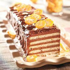 Rex-kakku / Cracker cake Bon Appetit, Crackers, Vanilla Cake, Tiramisu, Baking Recipes, Waffles, Deserts, Good Food, Food And Drink