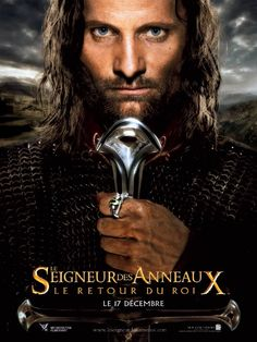 Le Seigneur des anneaux : le retour du roi, avec Elijah Wood, Sean Astin, Vigo Mortensen, Orlando Bloom, ...